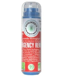 Complexe n°39 Emergency Remedy - Rescue (sans alcool) BIO, 130 granules