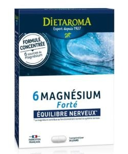 6 Magnesium Forté, 30comprimés