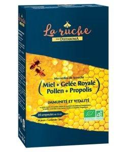 Merveilles de la ruche - emballage abîmé BIO, 20ampoules