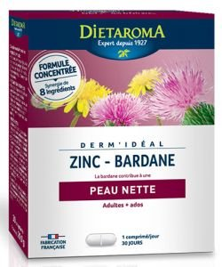 Dermidéal - Complexe Zinc-Bardane