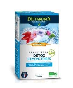 Drain'idéal - Détox & drainage BIO, 20ampoules