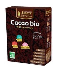 Cacao maigre 100% BIO, 200g