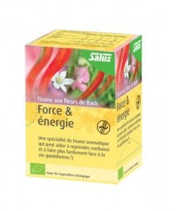 Bach Flower Herbal Tea - Strength & Energy BIO, 15 infusettes