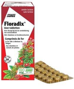 Floradix fer + plantes, 84comprimés