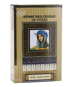 Henné biologique de Perse - Neutre BIO, 100g