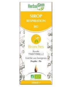 Sirop pour la respiration BIO, 250ml