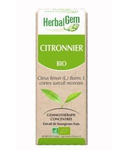 Citronnier (Citrus limonum) écorce BIO, 15ml