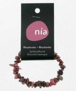 Bracelet baroque - Rhodonite