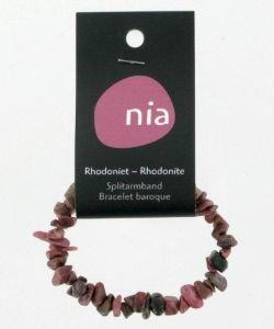 Bracelet baroque - Rhodonite, pièce