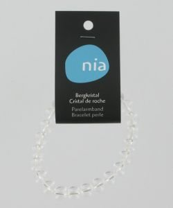 Bracelet perle - Cristal de roche