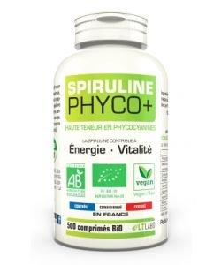 Spiruline Phyco+ BIO, 500comprimés
