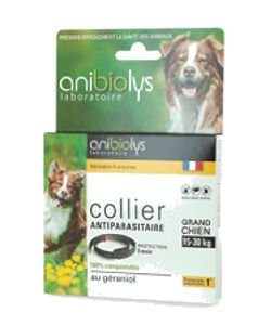 Collier antiparasitaire - Grand chien