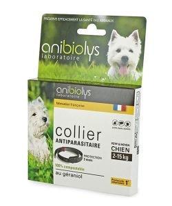 Collier antiparasitaire - Petit et moyen chien, pièce