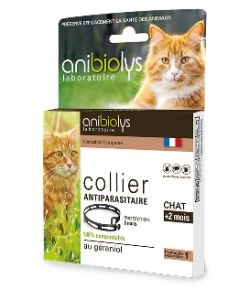 Collier antiparasitaire - Chat
