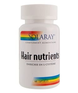 Hair nutrients, 60 capsules