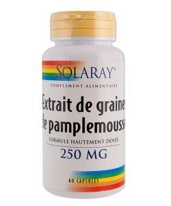 Extrait de graines de pamplemousse, 60capsules