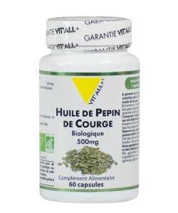 Huile de Pépin de Courge 500 mg BIO, 60capsules