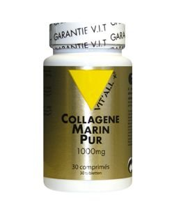 Collagène marin pur 1000 mg, 30 comprimés