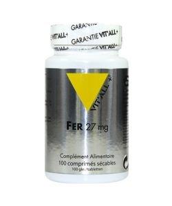 Fer 27 mg, 100comprimés