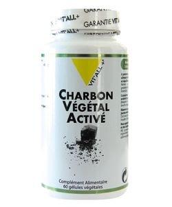 Charbon végétal activé, 60gélules