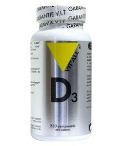 Vitamine D3, 250comprimés