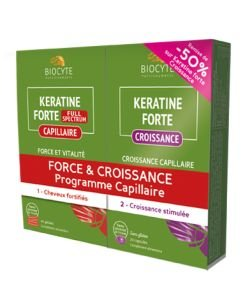 Duo pack Kératine Force & Croissance, pièce