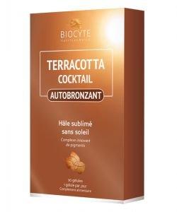 Pack Terracotta cocktail Autobronzant, 90capsules