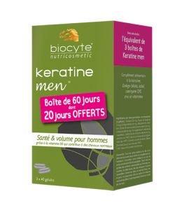Pack Keratine Forte Men - DLUO 10/2020, 120gélules