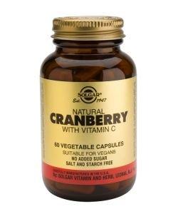 Cranberry avec Vitamine C, 60gélules