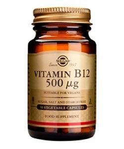 Vitamine B12 500 µg, 50gélules