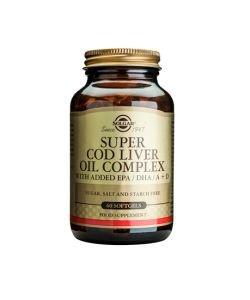 Super Cod Liver Oil Complex (Huile de Foie de Morue)