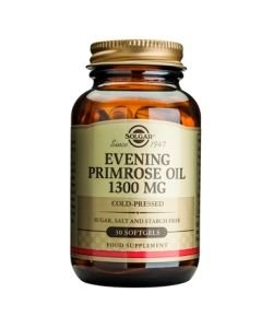 Evening Primrose Oil (Evening Primrose Oil) 1300 mg, 30 softgels