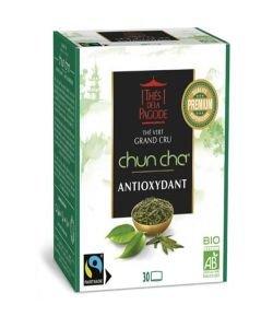 Chun Cha - Thé vert grand cru BIO, 30infusettes