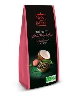 Thé vert litchi - noix de coco