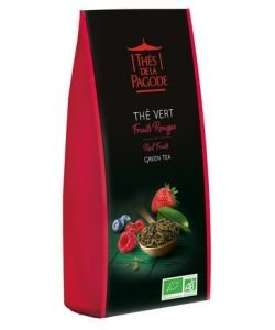 Thé vert fruits rouges BIO, 100 g