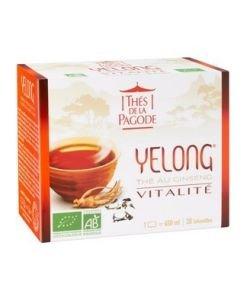 Yelong - Thé Vitalité BIO, 30infusettes