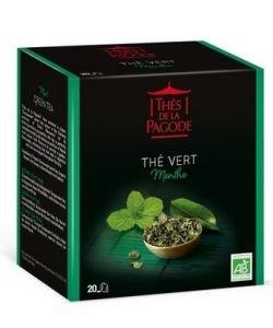 Thé Vert à la Menthe BIO, 20infusettes