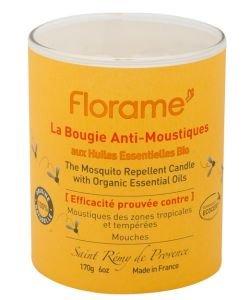Bougie anti-moustiques aux huiles essentielles BIO, 170g