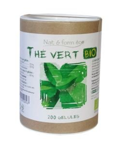 Thé Vert - Gamme ECO - DLUO 08/2020 BIO, 200gélules