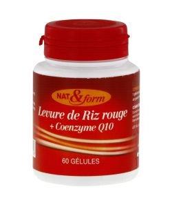 Levure de Riz Rouge + Coenzyme Q10, 60gélules