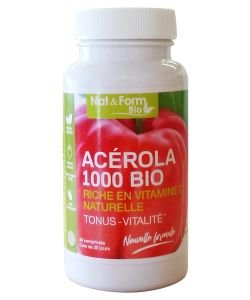 Acérola 1000 BIO, 30comprimés