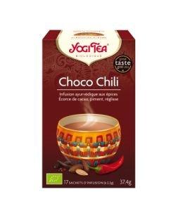Choco Chili - Infusion ayurvédique BIO, 17sachets