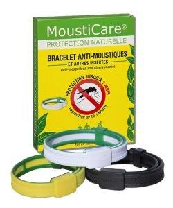 Bracelet anti-moustiques - Jaune/Vert, pièce
