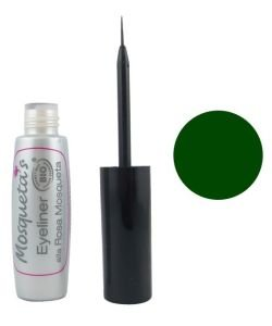 Eyeliner à la rose musquée - Vert BIO, 5ml