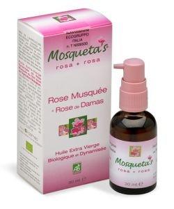 Huile de Rose Musquée (+ Huile essentielle Rose de Damas)