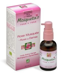 Rose Hip oil (+ Essential oil of Damascus Rose) BIO, 30ml