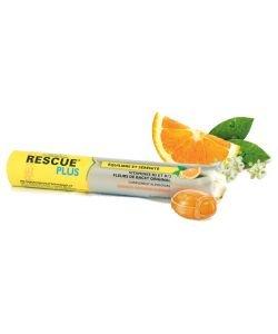 Rescue® Plus - Arômes Orange, 10pastilles