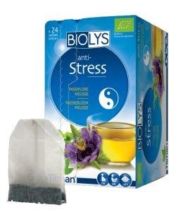 Infusion anti-Stress (passiflore-mélisse) BIO, 24sachets