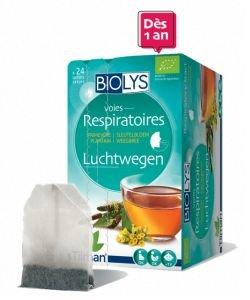 Infusion Voies respiratoires (primevère - plantain) BIO, 24sachets
