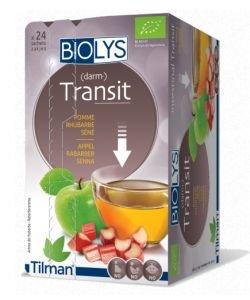 Infusion Transit (pomme-rhubarbe-séné) BIO, 24sachets